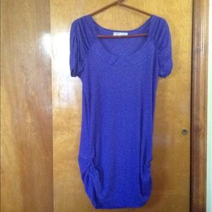Tops - Purple Short SleeveTunic